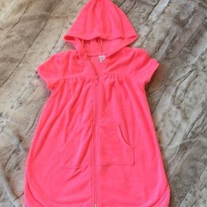 Old Navy coral size 4T coverup